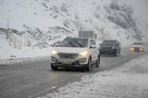 بیشتر جاده های استان کرمانشاه لغزنده است