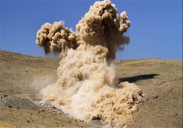 انفجار معدن طلای خمین جان راننده کامیون را گرفت