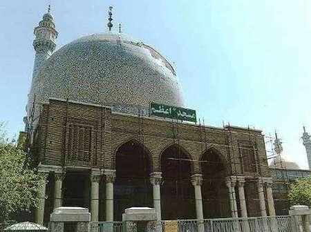 مدیر اجرایی مسجد اعظم قم: شبستان جدید در این مسجد احداث می شود
