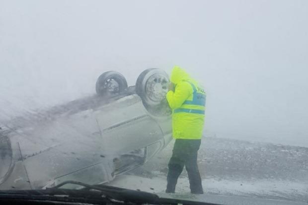 70 خانواده گرفتار در برف در خوش ییلاق نجات یافتند