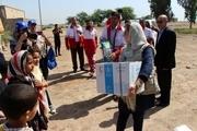 12 هزار بسته غذاییِ برنامه جهانی غذا(WFP) سازمان ملل تحویل هلال احمر خوزستان داده شد