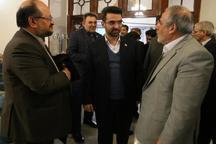 وزرای تعاون و ارتباطات وارد مشهد شدند