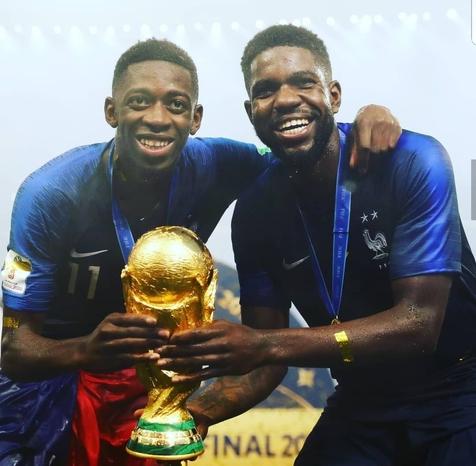 جام جهانی 2018 روسیه/ سرنوشت کاپ قهرمانی در رختکن فرانسه +عکس