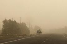 گرد و غبار ادارات شهر کرمان را تعطیل کرد