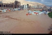 سیل به زیرساخت های غرب کرمانشاه خسارت های زیادی وارد کرد