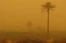 غلظت ذرات معلق در هوای منطقه سیستان به 10 برابر حد مجاز رسید