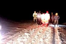 هشت کوهنورد گرفتار در ارتفاعات ورزقان نجات یافتند