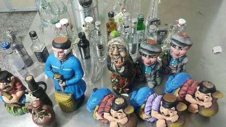 کشف مشروبات الکلی داخل عروسک در گمرک مشهد