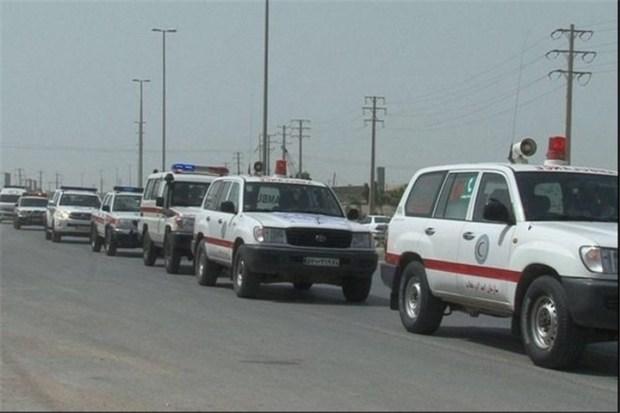 30 دستگاه آمبولانس هلال احمر ایران به عراق اعزام می شود