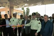 ساختمان قرارگاه پلیس راه قم به بهره برداری رسید