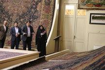 تزریق 200 میلیون تومان به غرفهداران نمایشگاه بین المللی فرش تبریز