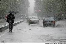 احتمال بارش و آب گرفتگی معابر شمال آذربایجان غربی