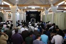 مراسم عزاداری شهادت امام محمدباقر(ع) در قزوین برگزار شد