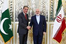 گفت و گوی تلفنی ظریف با وزیر خارجه پاکستان در مورد درگیری پاکستان و هند