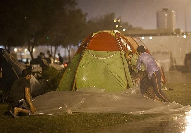 خداحافظی هوای مازندران با باران و سرما از مسافران نوروزی