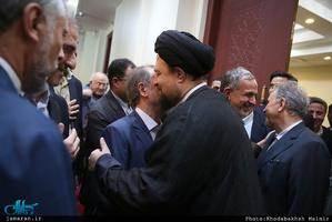 ادای احترام شهردار و اعضای شورای شهر پنجم نسبت به مقام شامخ حضرت امام(س)