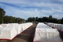 برپایی 36 اردوگاه اسکان اضطراری در استان خوزستان  اسکان بیش از 20 هزار نفر در اردوگاهها