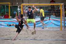 رقابت های قهرمانی هندبال ساحلی کشور در کازرون برگزار می شود