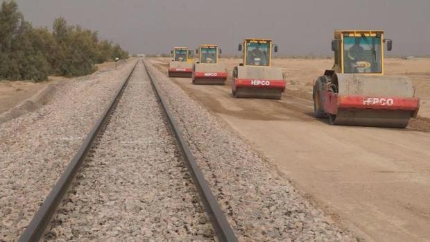90 کیلومتر از خط دوم راه آهن بافق آماده بهره برداری شد