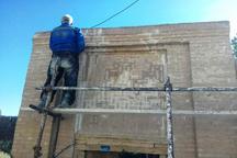 خانه تاریخی ملاعباس زاوه مرمت شد