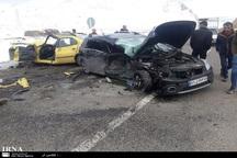 سوانح رانندگی در اردبیل 2 کشته و یک هزار و 118 مصدوم داشت