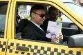 تردد شهردار رشت با تاکسی در سطح شهر و بررسی مشکلات تاکسیرانان