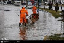 آب افتادگی در شهرک مهرگان مشهد برطرف شد