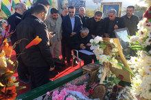 حضور سردار سلیمانی بر سر مزار جلال طالبانی+تصاویر