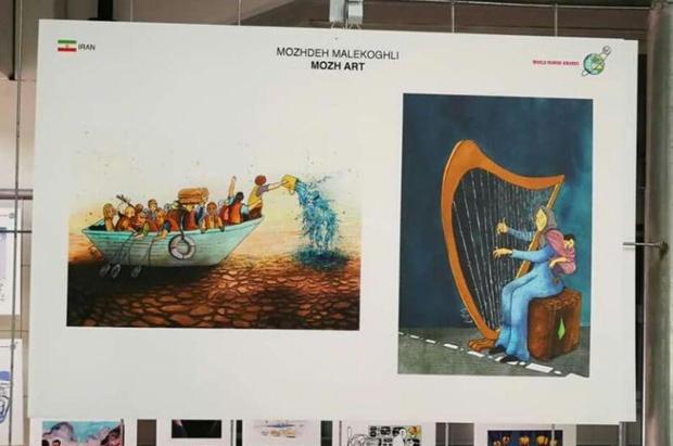 هنرمند جوان انزلی در چند جشنواره خارجی برگزیده شد