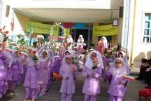 دانش آموزان زلزله زده روستایی قصرشیرین فعالیت درسی خود را از سرگرفتند