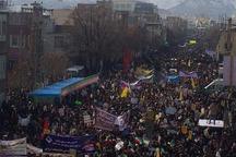 راهپیمایی 22 بهمن در استان مرکزی آغاز شد