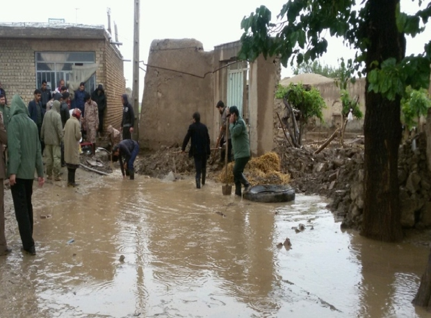 آبگرفتگی سه روستا و یک منطقه شهری در سبزوار رفع شد