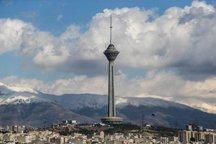 کیفیت هوای تهران برای دوازدهم روزمتوالی در اردیبهشت ماه سالم است