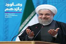 انتشار کتاب رهاورد یازدهم ومعرفی پروژه های سفر کاروان تدبیر و امید به استان یزد