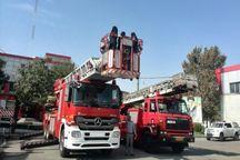 آتشنشانی کارگاه تخصصی برای کرجیها برگزار کرد