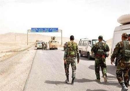 بازگشایی جاده مرزی سوریه - عراق