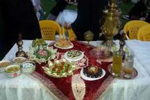 جشنواره زیباترین سفره های افطاری در قزوین برگزار شد