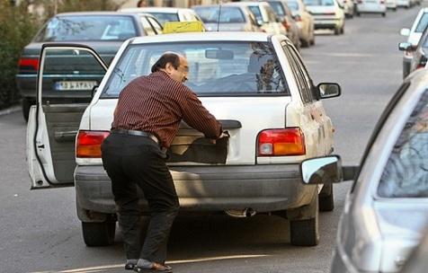 برخورد شدید پلیس با مخدوش کنندگان پلاک خودرو در مراجع قضایی