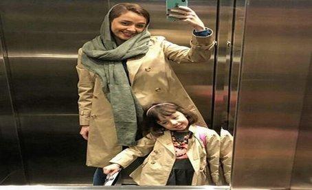 عکس جدیدی از ترانه علیدوستی و دخترش