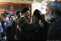 مراسم ختم مادر حجت الاسلام و المسلمین محتشمی پور در مسجد نور-1