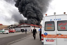 جزئیات آتشسوزی کارخانه چاپ سلفون در شهرک سرمایهگذاری خارجی