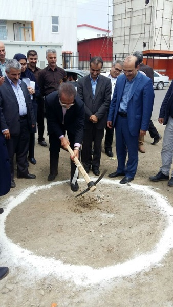 کلنگ احداث راه دسترسی اختصاصی شهرک صنعتی توستان لاهیجان به زمین زده شد