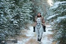 عکس/  رهبر کره شمالی سوار بر اسب سفید