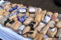 833 کیلوگرم مواد مخدر در جاسک کشف شد