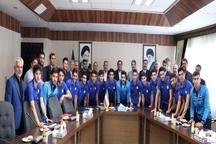 استاندار آذربایجان غربی از بلند قامتان نوجوان شهرداری ارومیه تجلیل کرد