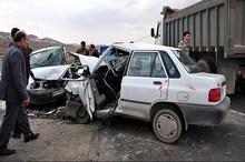دو سانحه رانندگی در استان اصفهان 2 کشته و 8 مصدوم شدند
