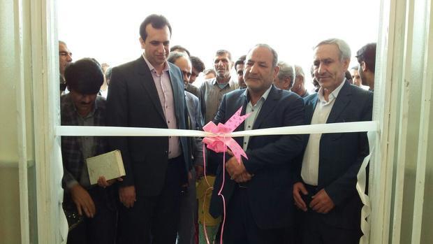 مرکز خدمات جامع سلامت قلعه دختر کهگیلویه افتتاح شد