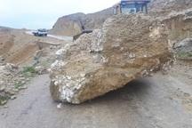 ریزش کوه شهروندان دیشموکی را تهدید می کند