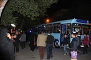 40 اتوبوس سوگواران شبهای قدر گرگان را جابجا می کنند
