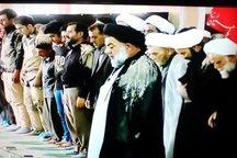 نماز ظهر عاشورا در مصلی الغدیر خرم آباد اقامه  شد